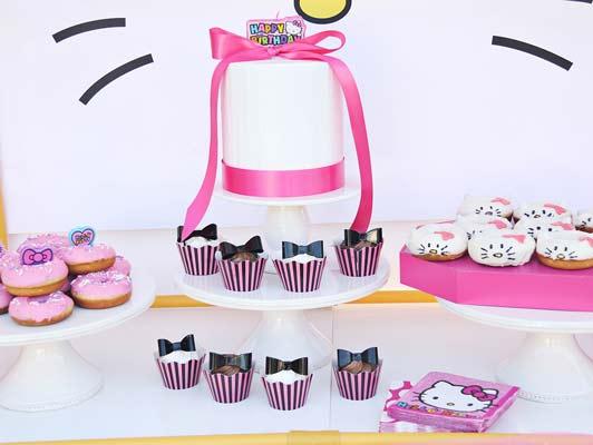 hello kitty birthday party theme7 - تم تولد کیتی تمی دوست داشتنی برای دختر خانوم ها