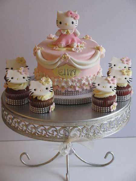 hello kitty birthday party theme70 - تم تولد کیتی تمی دوست داشتنی برای دختر خانوم ها
