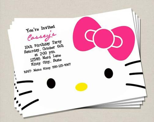 hello kitty birthday party theme75 - تم تولد کیتی تمی دوست داشتنی برای دختر خانوم ها