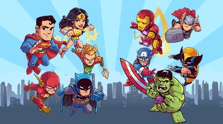 superhero 450 250 - تم تولد ابرقهرمانی تمی هیجان انگیز برای پسر بچه ها