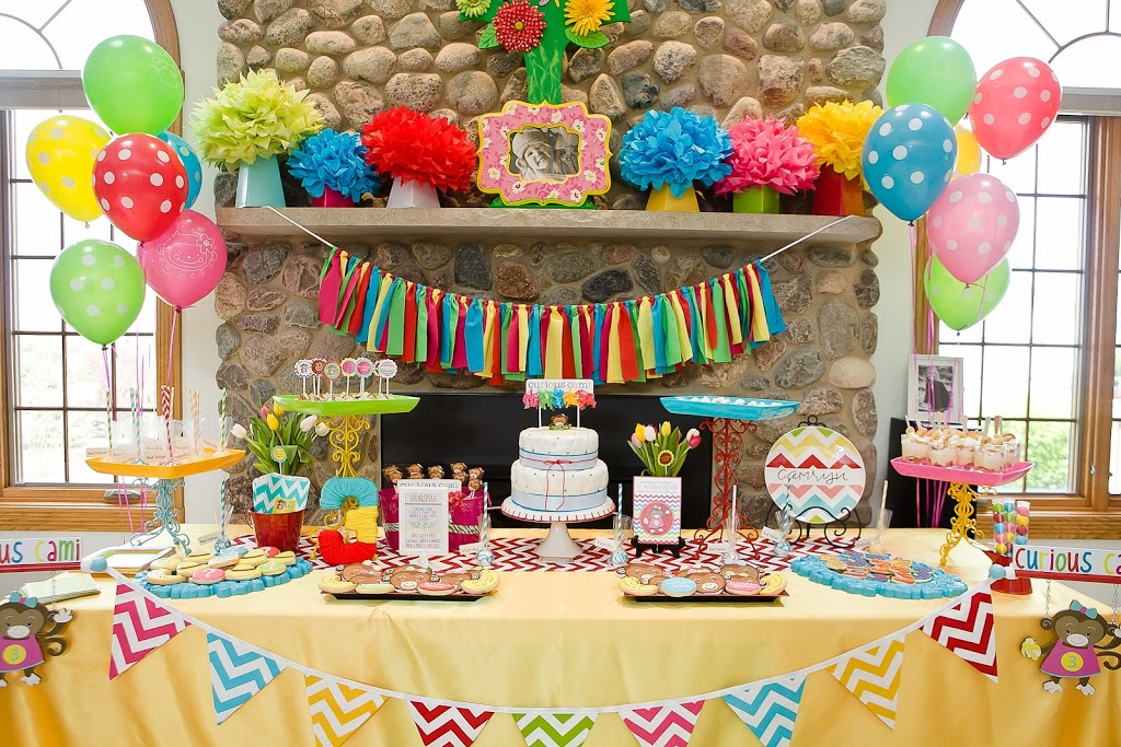 IMG 5508 - ایده های تزئین میز تولد ، میزی زیبا و شیک با ایده هایی جالب