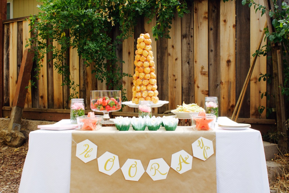 IMG 9062 - ایده های تزئین میز تولد ، میزی زیبا و شیک با ایده هایی جالب