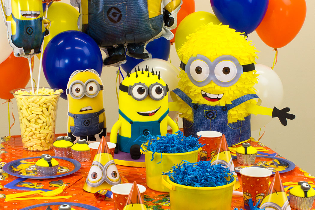 minion theme - ایده هایی ارزان برای برگزاری جشن تولد هایی مجلل