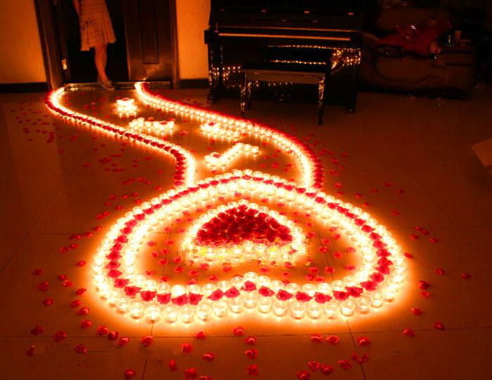 میز تولد عاشقانه - تمی عاشقانه و رمانتیک با ایده هایی عاشقانه