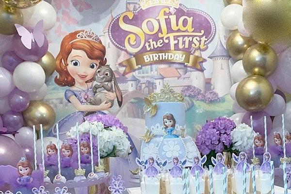 تم تولد سوفیا - تم های ناز و دوست داشتنی برای تولد های دخترانه