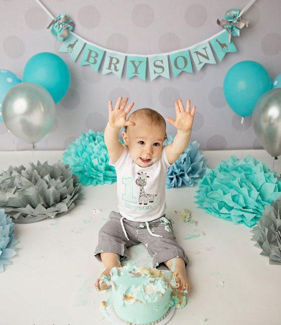 تم تولد کودک در منزل 24 e1568787296219 - تزئیناتی ساده اما زیبا برای تم تولد کودکان در منزل