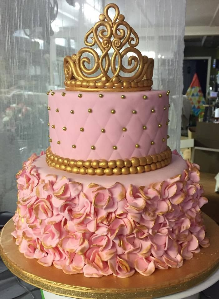 2cfabedfdd1709258fa0f748c95b2464 - ایده هایی برای تهیه ی زیباترین کیک تولد دخترانه