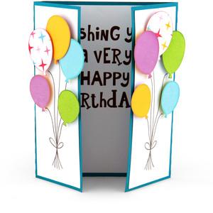 دعوت بادکنکی رنگی - متن کارت دعوت تولد ؛ متن هایی رسمی ، دوستانه و حتی خنده دار و طنز