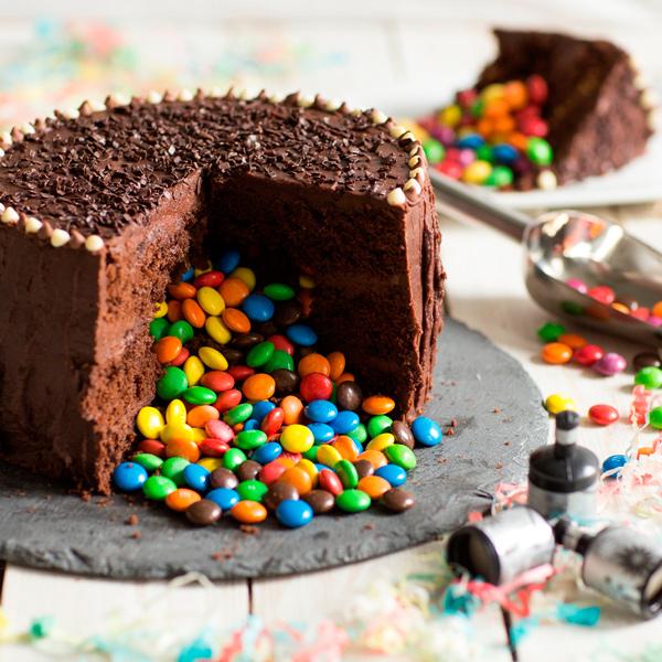 268735 362 - طرز تهیه ی کیک شکلاتی برای  تولد به 6 روش متفاوت