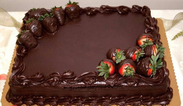 268737 104 - طرز تهیه ی کیک شکلاتی برای  تولد به 6 روش متفاوت