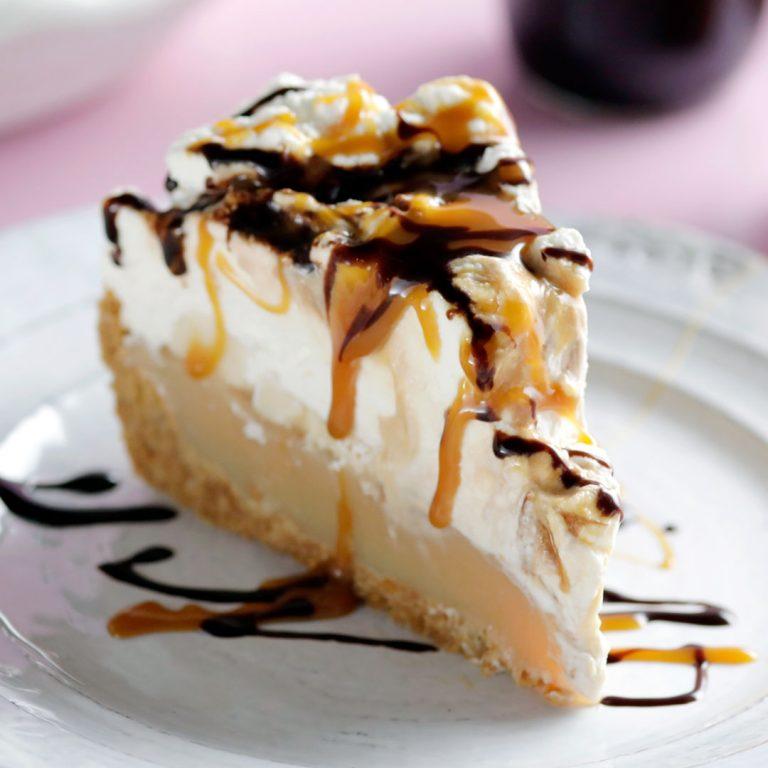 Banoffee pie recipe 2 768x768 - آموزش تهیه ی دسرهایی شگفت انگیز برای تولد