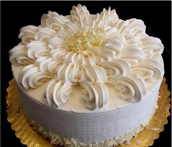 Decorate the cake with creamy 21 e1570467024377 - طرز تهیه ی خامه قنادی برای تزئین کیک های تولد و ...
